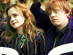 Emma Watson on the last day of Harry Potter, watching back the final scenes
