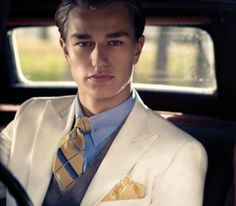 The Great Gatsby / Brooks Brothers / Great White Shark Style