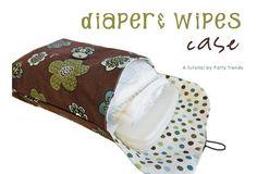 Diaper & Wipes case Tute