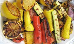 Vegetarian recipes for the grill