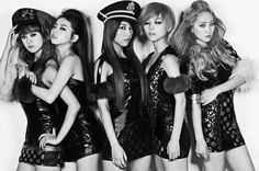 Wonder Girls featuring the song Be my Baby