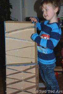 Make Your Own Marble Run - Pinned by @PediaStaff – Please visit http://ht.ly/63sNt for all (hundreds of) our pediatric therapy pins