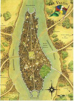 Map of Tar Valon