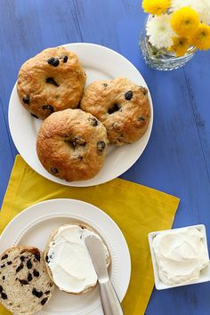 blueberry bagels by annieseats, via Flickr