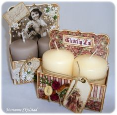 Candle box gifts