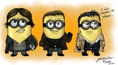 misha minion, supernatur minion