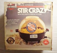 1970s technolog, stir crazi, popcorn popper