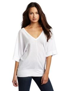 LAmade Women's 1/2 Sleeve Double V Top $57.00