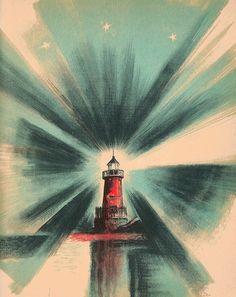 The Little Red Lighthouse and the Great Gray Bridge illustrated by Lynd Ward