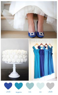 Cobalt blue for the wedding!
