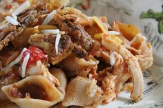 Dinner Tonight: Salsa Chicken and Shells
