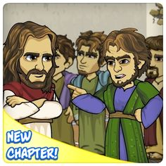 LIKE / SHARE if JESUS is your SAVIOR!  Play Today! Join The Feast!  Yeshua's brothers have invited Him to attend   the Feast of Tabernacle's in Jerusalem with them.   Should Jesus be seen in public? What will happen to Him if He goes?   What will His answer be? Find out in this week's New Story Maps!