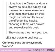 Don't Mess with the Disney Fandom