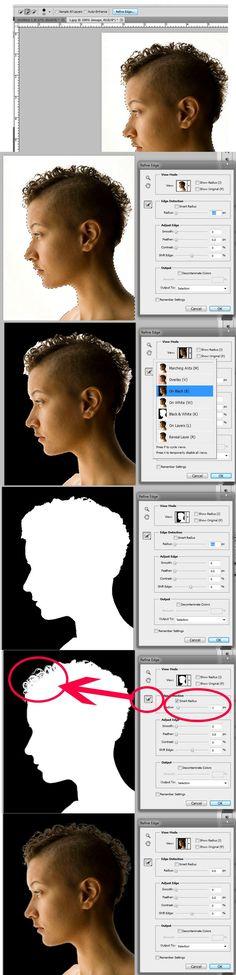 The Power of Photoshop's Refine Edge Tool