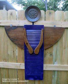 DIY Garden Art Angel