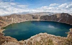 Crater Volcano, Ecuador-South America