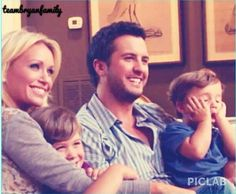 Proud country parents on pinterest jason aldean nicole for How many kids does luke bryan have