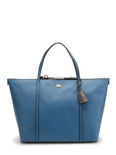 Miss Escape Coated Leather Shopping Tote by Dolce & Gabbana at Gilt