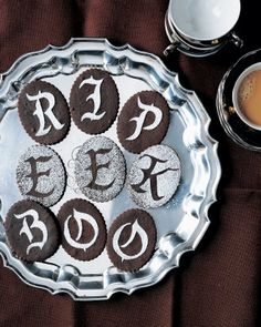 Gothic Letter Cookies Recipe