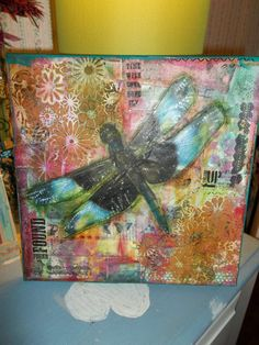 let the journey take flight by Kellydoodle on Etsy, $38.00