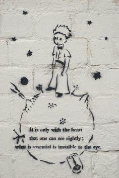 Little Prince stencil