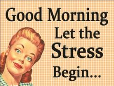 Funny Pictures About Stress | Home > British Signs & Wall Art - 15cm x 21cm > Funny/Humour Signs