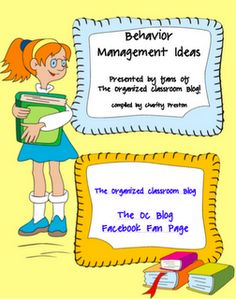 free eBook which has tons of ideas for behavior management