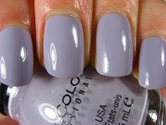 Polish of the week: Sinful Colors in Mauve. These lovely nails are not mine, though. This color is gorgeous!