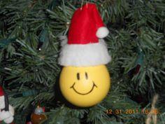 2009 Xmas Ornament-Smile Face