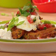 Huevos Rancheros Taco Waffle | Rachael Ray Show