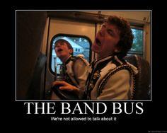 What happens on the band bus stays on the band bus... Hahaha @Liza Flores Matthews Hekman Folau @Amanda Snelson Snelson Snelson McKibbin