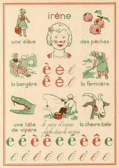 les accents en français