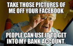 Haha Old people.