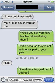 math jokes.