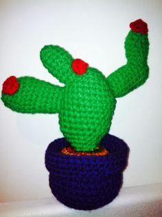Patron Cactus Amigurumi Tejiendo Peru : Cactus Amigurumi by Ine Albano Patron: Tejiendo Per?