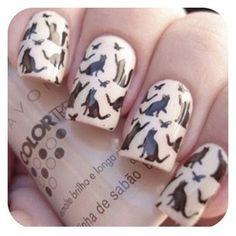 pretty kitty nails! nails! nails!
