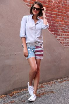 A Fun Sporty Outfit for Summer!