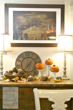 DIY Autumn Fall Decorating