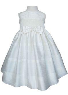 Beautiful Ivory silk dupioni pageant dress.  by CarouselWear, $119.99