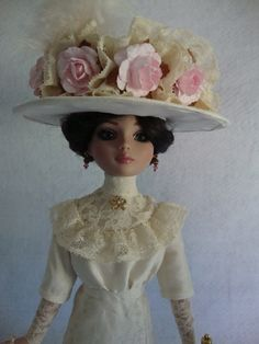 Edwardian Hat for Ellowyne