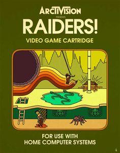 Raiders for Atari 2600