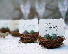 Nest Place Cards