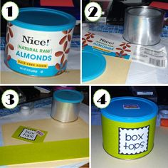 Make a cute Box Top Container.  I like this!  Now I just need the container.