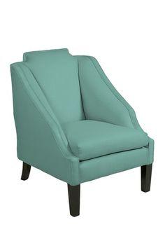 Joy Chair in Robin's Egg Blue.