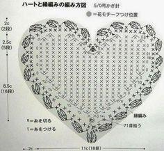 Crochet: Crochet heart