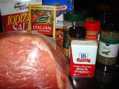 Mama Loves Food!: Italian Beef - Slow Cooker Style