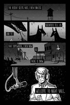 "Suuuccchhh cool fanart. | The 42 Stages Of ""Welcome To Night Vale"" Addiction"