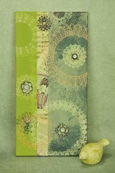 Stamping Gear Vintage Canvas