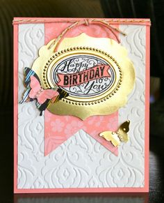 Stampin' Up! Birthday Card by Krystal's Cards and More: Best of 25 Years!!!