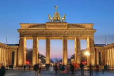 The Brandenburg Gate Berlin - Germany by kleiner hobbit, via Flickr